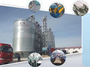 Assembled steel warehouse